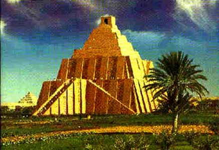mesopotamian ziggurats and egyptian pyramids